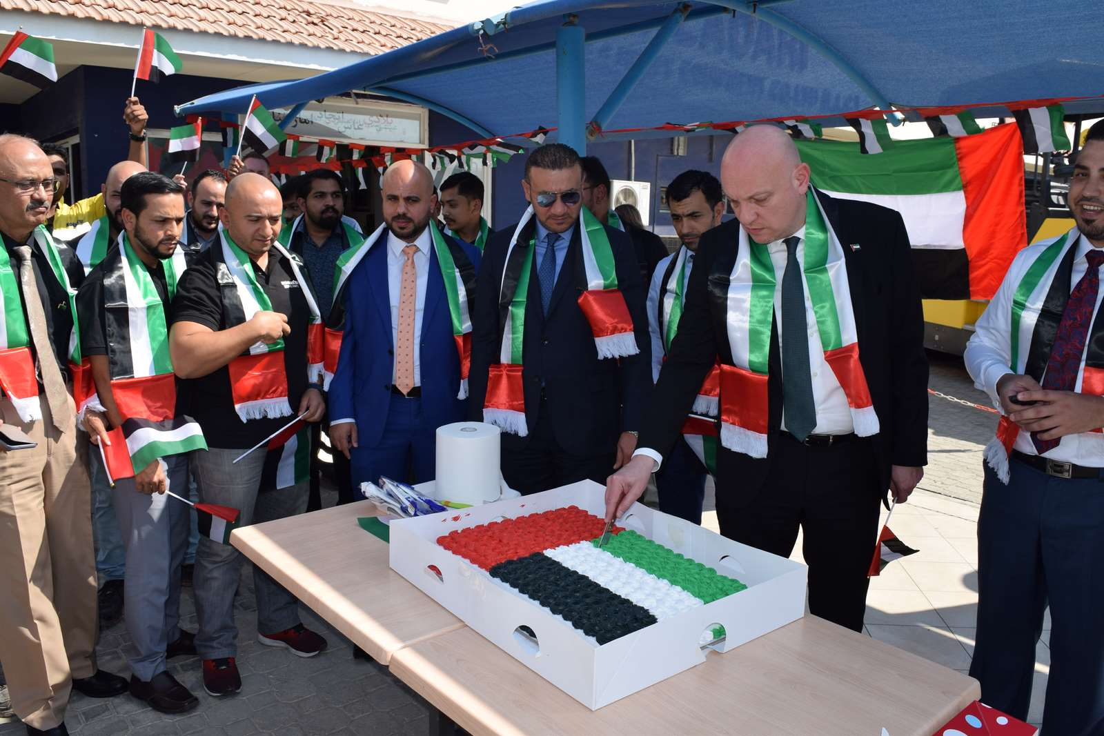 UAE Flag Day 2019 Celebration in Dubai